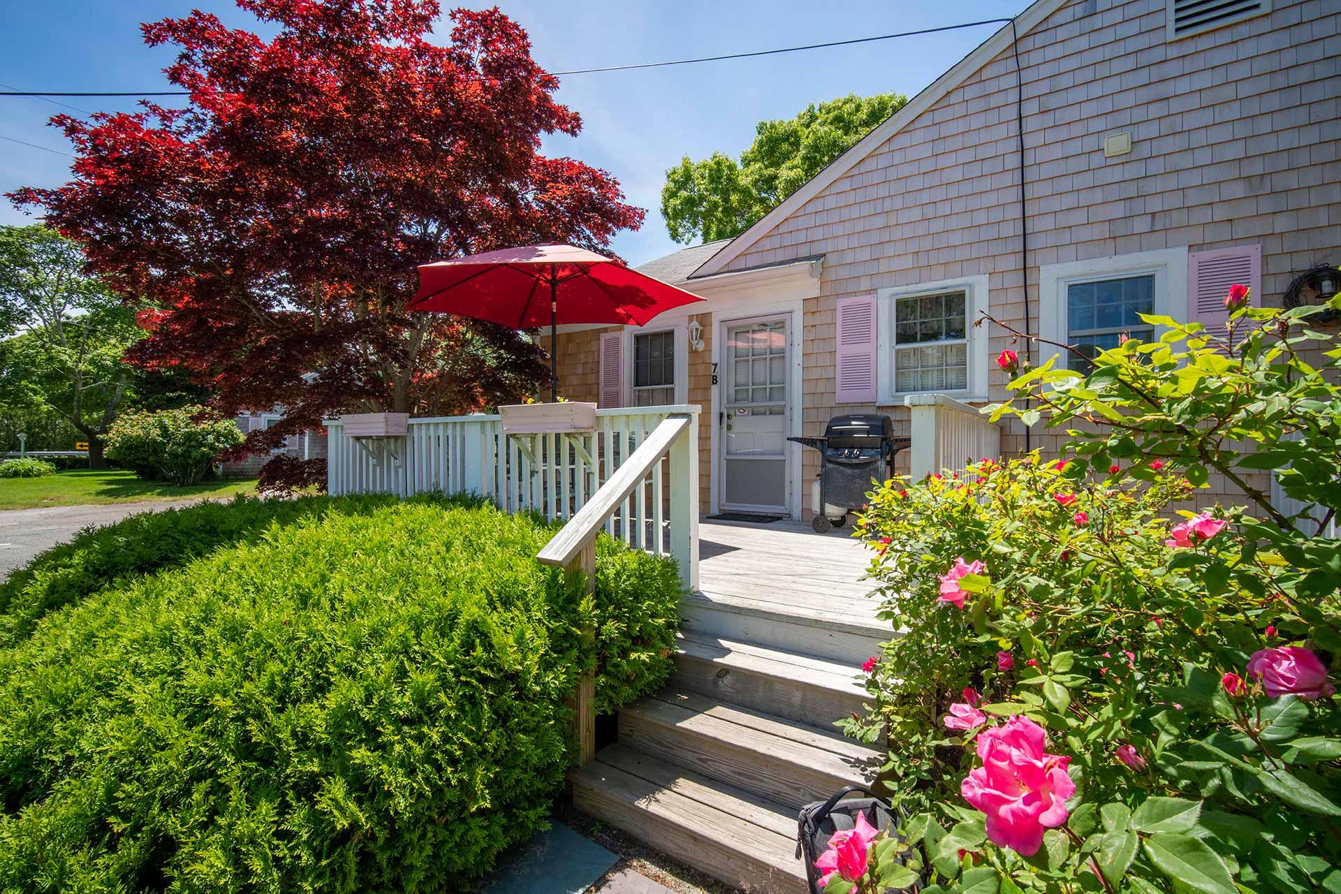 Cape Cod Studio Rental Patio