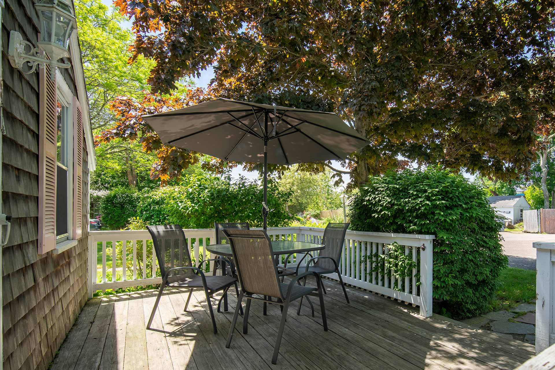 Vacation Rental Cape Cod Studio Patio