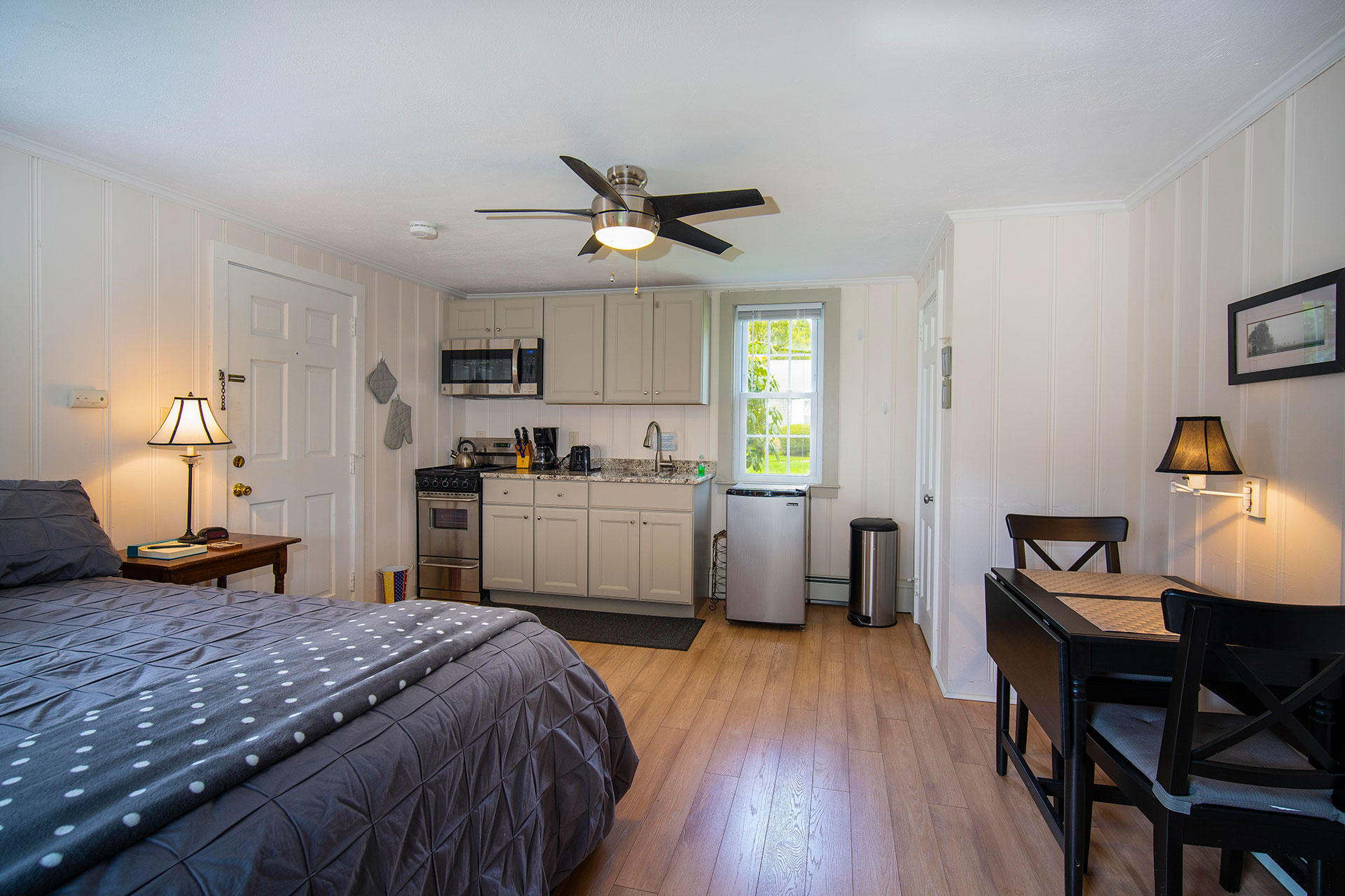 Vacation Rental Cape Cod Living Area and Kitchen