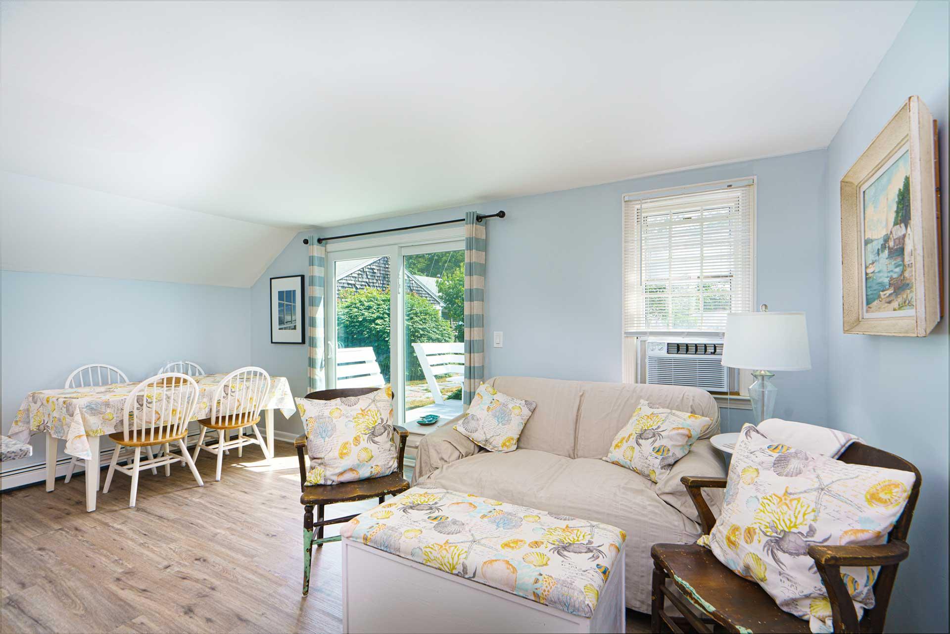 2 Bedroom Cape Cod Cottage Living Room